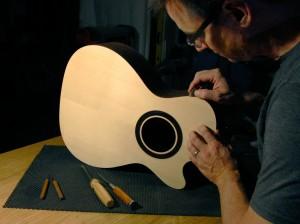 Luthier Ken Jones