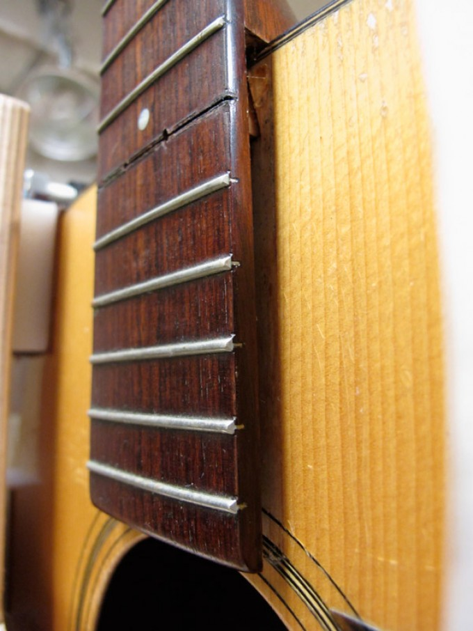 Breathing New Life Into a Great Guitar — The Process of Resetting a Neck