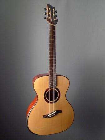 full body of fanned fret Mountain Song Guitars Dream Series Baritone Guitar